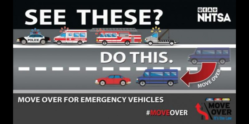 Image for **Reminder** - Move Over Law
