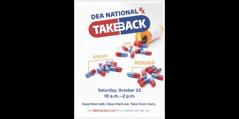 Image for National Drug Take Back Day - October 23rd, 2021