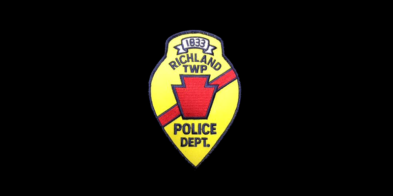 Image for Welcome to the Richland Township Police Department
