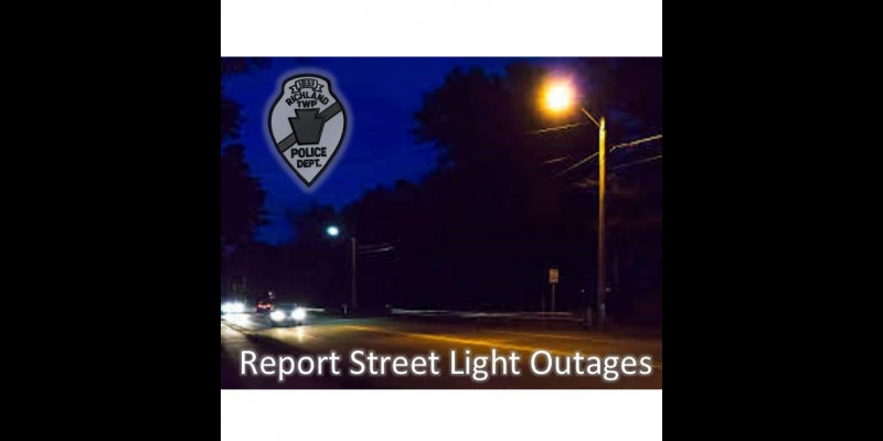 Image for Report Street Light Outages